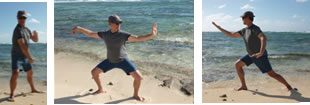 Comprehensive Tai Chi postures photo